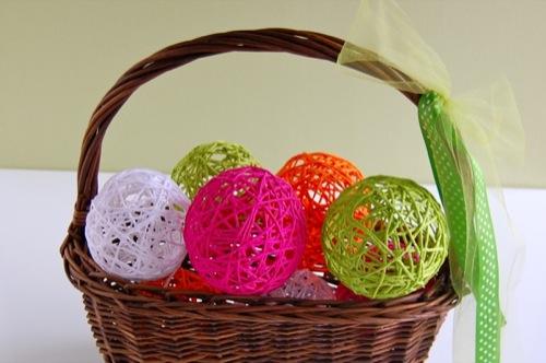 Как сделать шары из ниток?