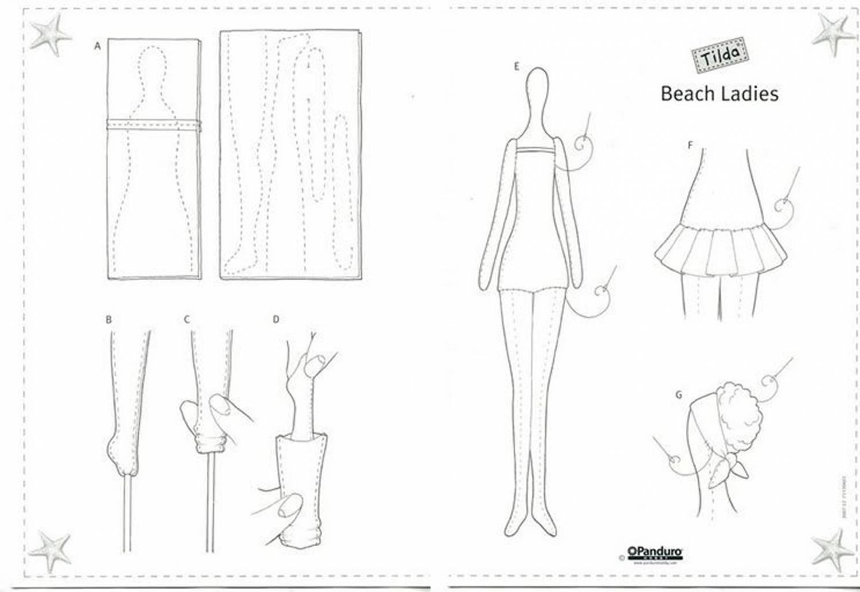 Куклы тильда своими руками выкройки чертежи мастер класс