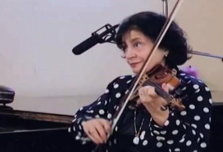 Маринэ Яшвили. Уроки игры на скрипке