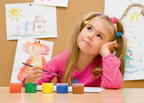 Как научить ребенка рисовать? Простые техники рисования