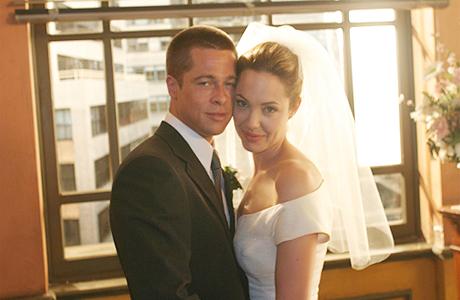Брэд Питт и Анджелина Джоли тайно поженились во Франции