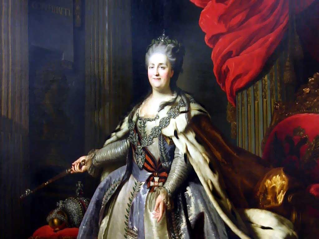 Екатерина Великая. Судьба императрицы