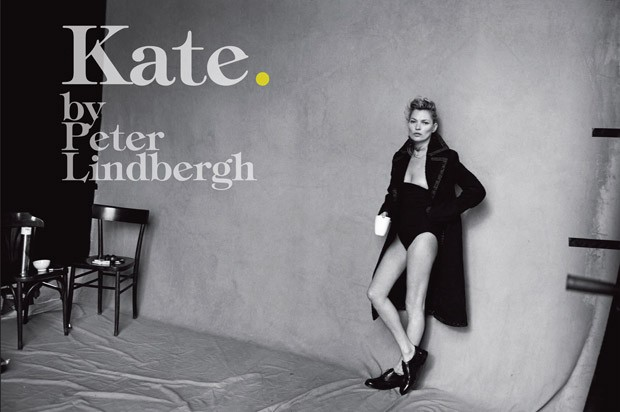 Кейт Мосс в итальянском Vogue