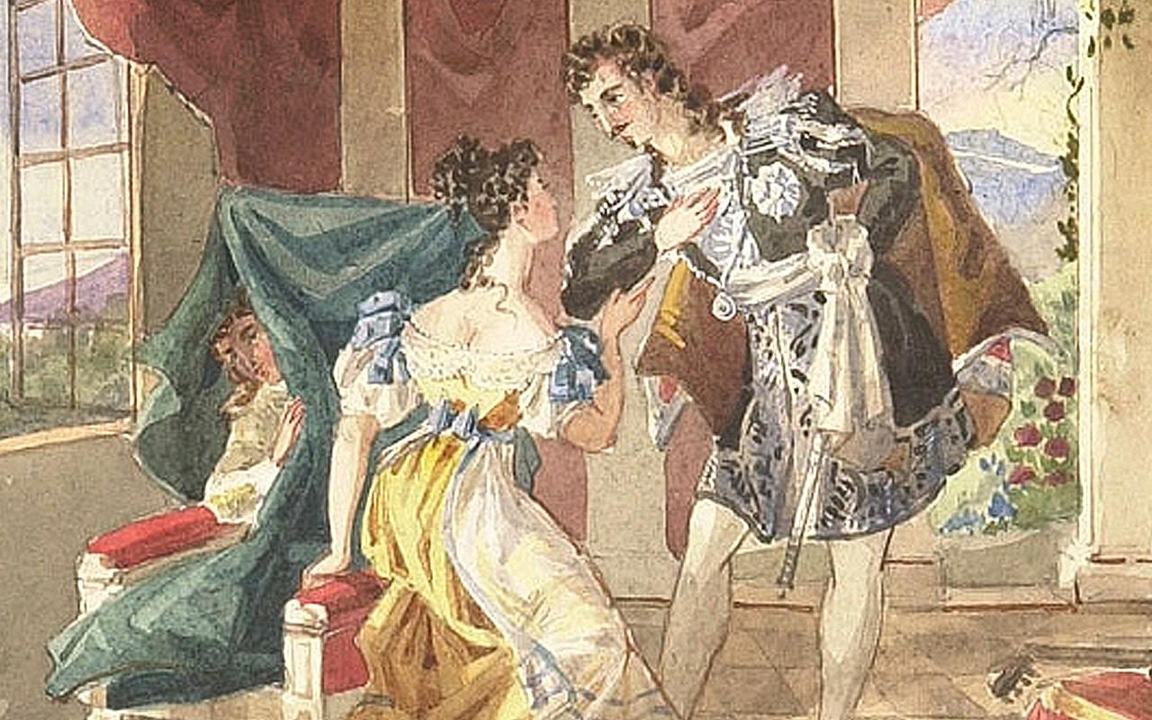 Свадьба Фигаро. Вольфганг Амадей Моцарт